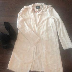 Tweet off-white delicate Arc & Co jacket blazer